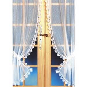homemaison rideau bonne femme fond sabl 233 blanc pas