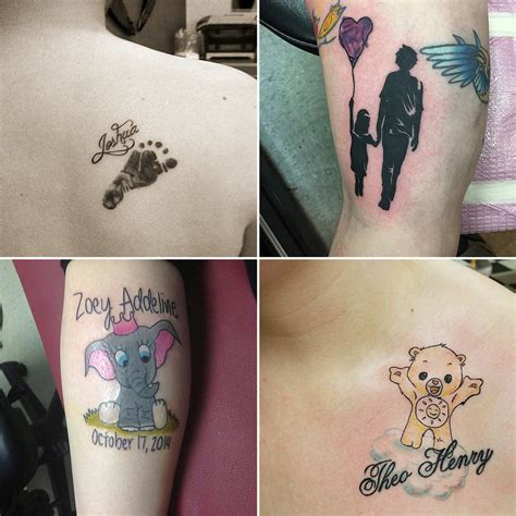 tattoo ideas inspired by kids popsugar moms