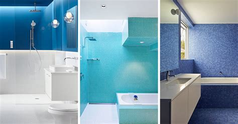 White And Blue Bathroom by 13 Inspirational Exles Of Blue And White Bathrooms