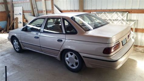 1991 Ford Taurus by 1991 Ford Taurus Sho Performance Exhaust 5pd Manual V6