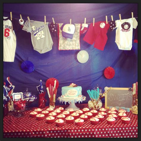 Baseball Baby Shower Decoration Ideas by Baseball Themes Baby Shower Baby Shower