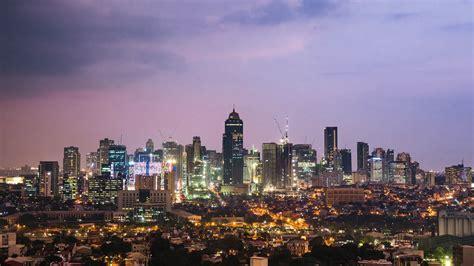 day  night time lapse view  metro manila