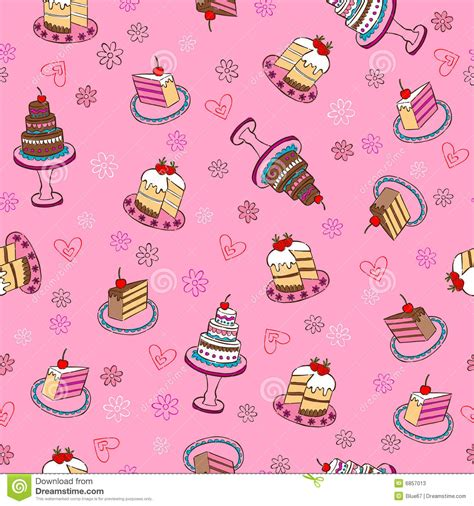 cake background pattern vector fancy cakes seamless repeat pattern stock photos image