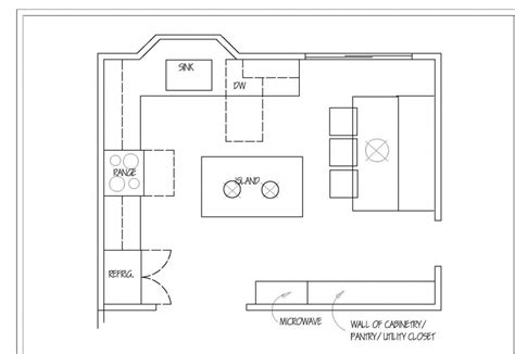 kitchen floor plans with dimensions kitchen layouts dimension home christmas decoration