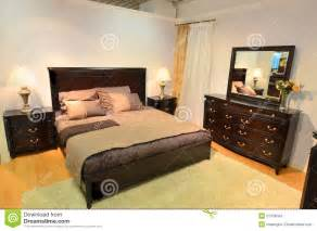 Classic bedroom wooden furniture stock images image 21378584