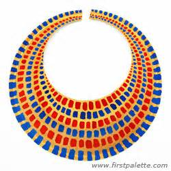 Ancient Collar Template by Ancient Collar Or Necklace Craft Crafts