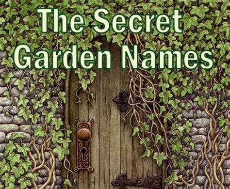 Garden Names by The Secret Garden Names Tulipbyanyname