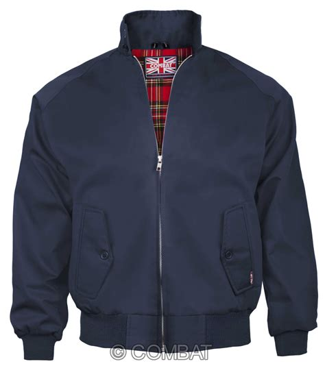 Jaket Navy navy harrington jacket blue the original mens harrington