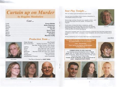 curtain up on murder 2010 progressive players gateshead all the plays