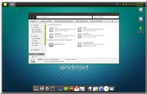 themes for android free download to pc transform windows 7 pc to android skin pack download