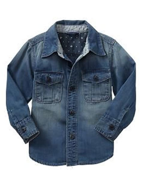 Boy Denim Shirt denim shirt gap toddler boy style boys fashion baby