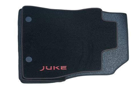nissan juke genuine car floor mats luxury tailored carpet front rear x4 red ebay