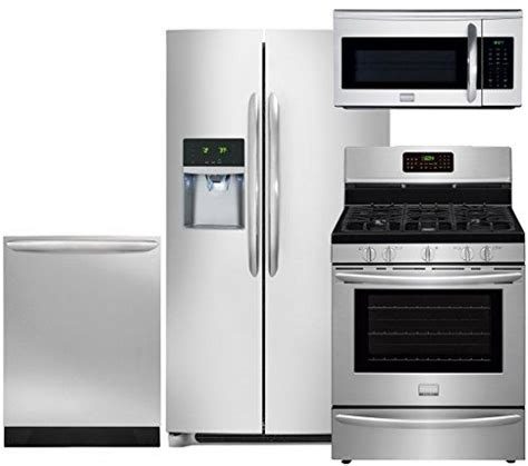 frigidaire professional 4 piece stainless steel kitchen 23 best stainless steel appliance package images on