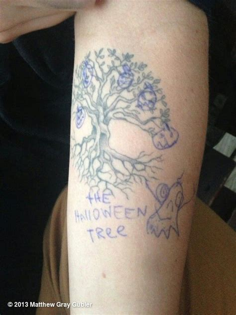matthew gray gubler tattoo matthew gray gubler future ink