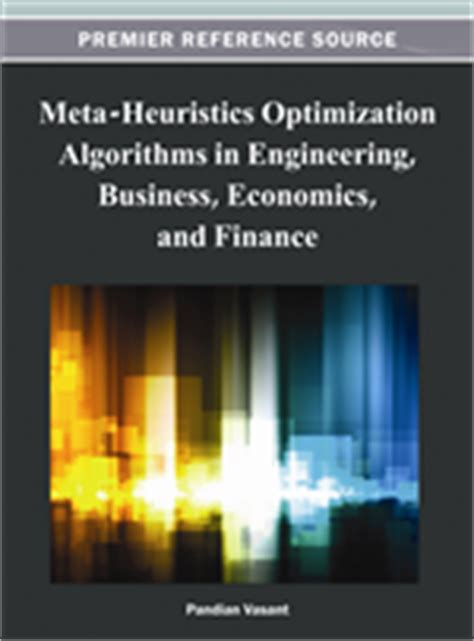 meta trends and the next economy books meta heuristics optimization algorithms in engineering
