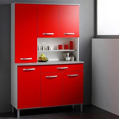 buffet de cuisine smarty cm rouge
