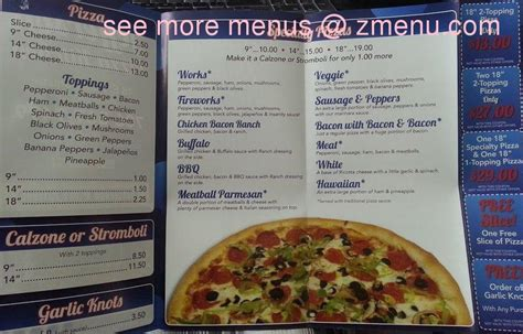 Jefferson Pizza Kitchen menu of jefferson pizza kitchen closed restaurant