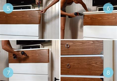 Before and After: A Campaign Style IKEA Malm Hack   Simple