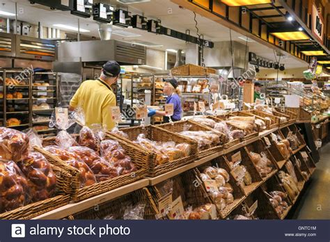 sections of a grocery store bakery section at wegmans grocery store westwood