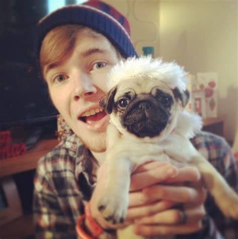 real pug dantdm and ellie pictures