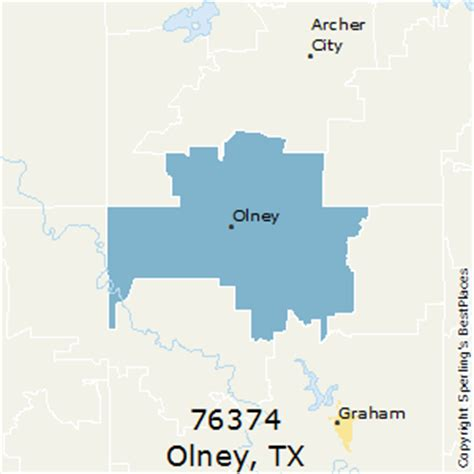 olney texas map best places to live in olney zip 76374 texas