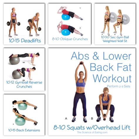 abs   fat workout  science  eating