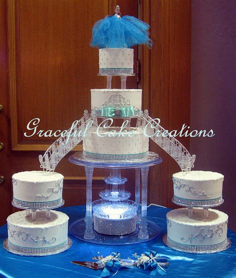 quinceanera colors and color scheme ideas elegant white butter cream quinceanera cake with tiffany b
