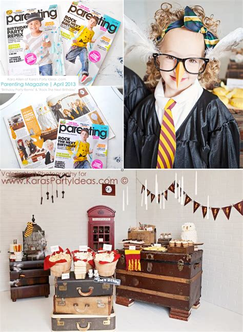 harry potter themed boys birthday party book character kara s party ideas harry potter party planning ideas cake