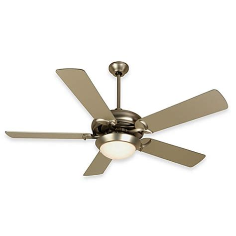 bed bath and beyond ceiling fans design trends cosmos ceiling fan in brushed nickel bed