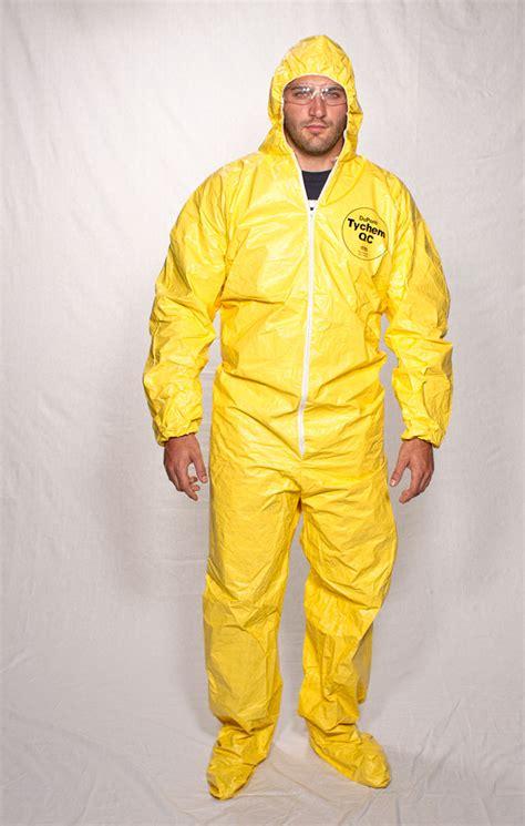 Haz Mat Suits by Tychem 174 Qc Hazmat Suit With Boots Biohazard