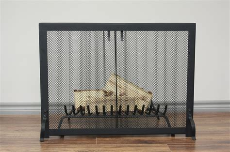 heritage curtain mesh screen anvil fireside