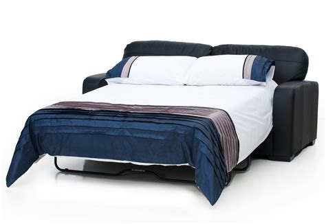 future leather  seater sofa bed super  mart
