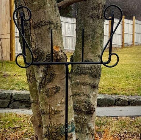 Decorative Sign Holder by 10l X 12w Black Wrought Iron Lawn And Garden Decorative