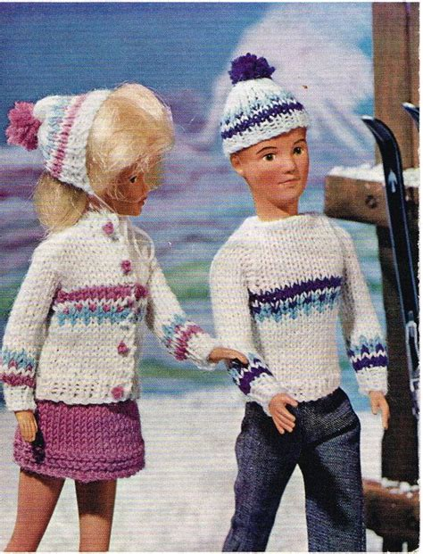 fashion doll knitting patterns 1000 images about sindy and ken dolls clothes