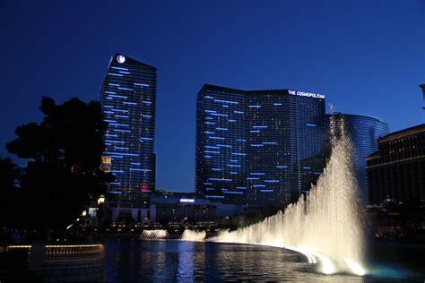 The Cosmopolitan Hotel Ilight Technologies Lights In Las Vegas