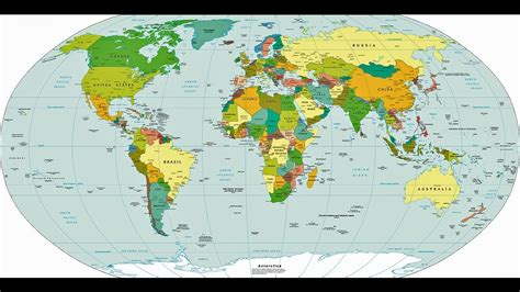 total countries   world map    countries
