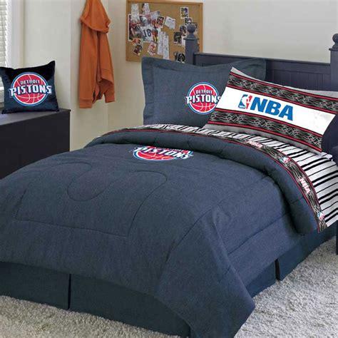 blue denim comforter detroit pistons blue denim pillow sham