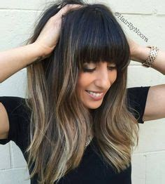 145 best long hairstyles with bangs images on pinterest