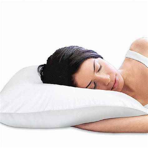 Sleep To Live Pillow by Sleep Innovations 2 In 1 Reversible Memory Foam Pillow