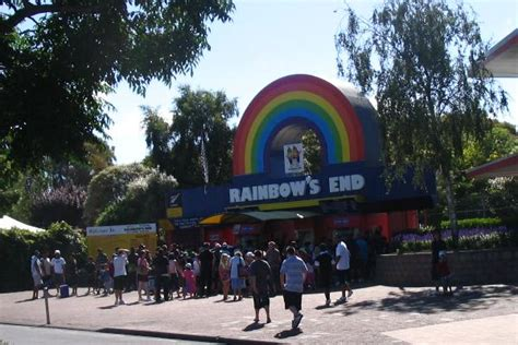 theme park new zealand photo tr rainbow s end new zealand theme park review