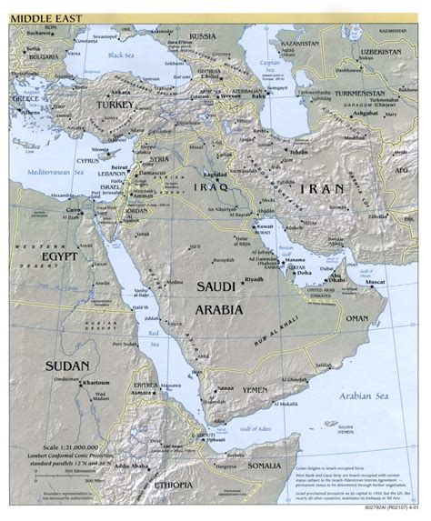 middle east map bodies of water middle east maps perry casta 241 eda map collection ut