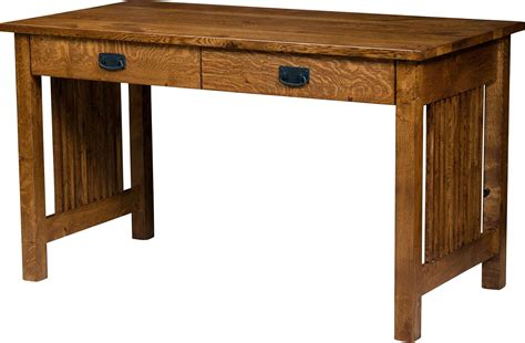 Mission Style Desk With Hutch Computer Desks Amish Furniture By Brandenberry Amish Furniture