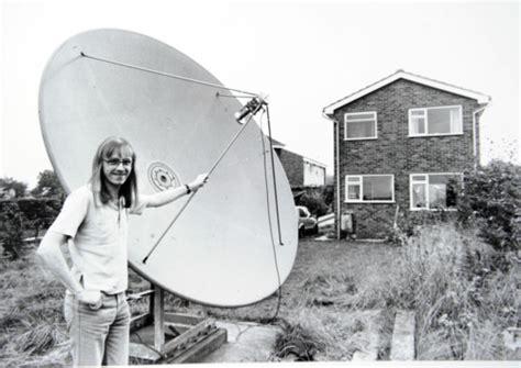 backyard satellite dish deep dish when satellite dishes were awesome