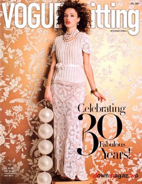 knitting fall 2012 vogue knitting fall 2012 187 pdf magazines