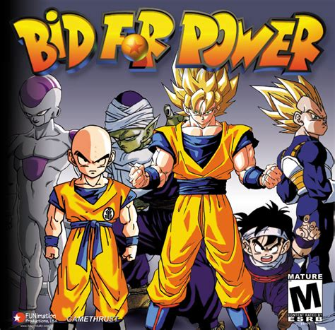 dragon ball z full version games free download dragon ball z bid for power pc full version