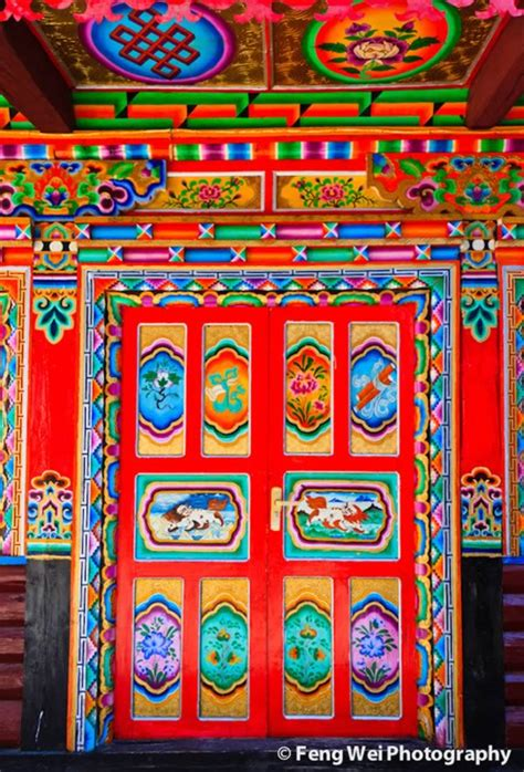 tibetan design 15 unique doors and entrances oddee