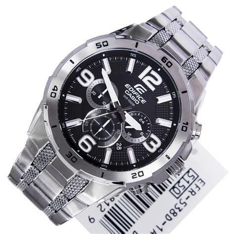 Casio Edifice Efr 538 Black White casio edifice sports efr 538d 1a