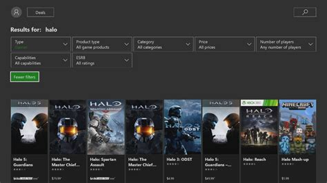 microsoft store on xbox one can now filter by price rating and more microsoft store on xbox one can now filter by price