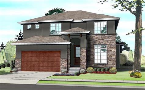 modern prairie house plans contemporary prairie style southwest house plan 41109