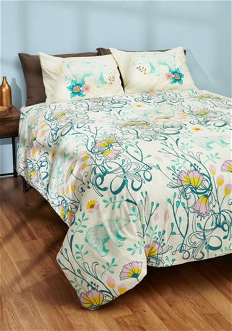modcloth bedding cub back to bed duvet cover in full queen mod retro vintage decor accessories